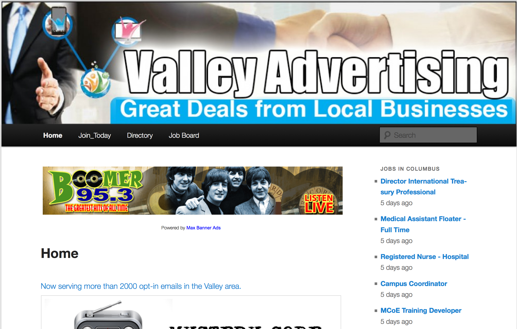 Valley Website